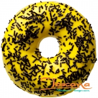 BANANA DARK SPRINKLES DONUT